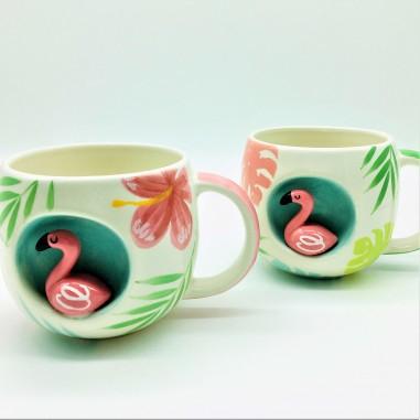 Mug Flamenco cerámica, 250ml.